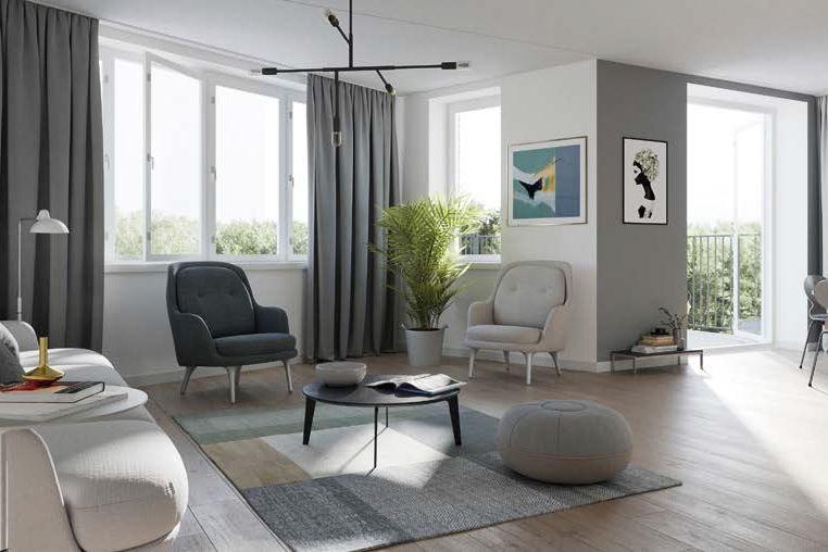 Bekijk foto 4 van 21|Centrumappartement|type E| De Smidse (Bouwnr. 21)