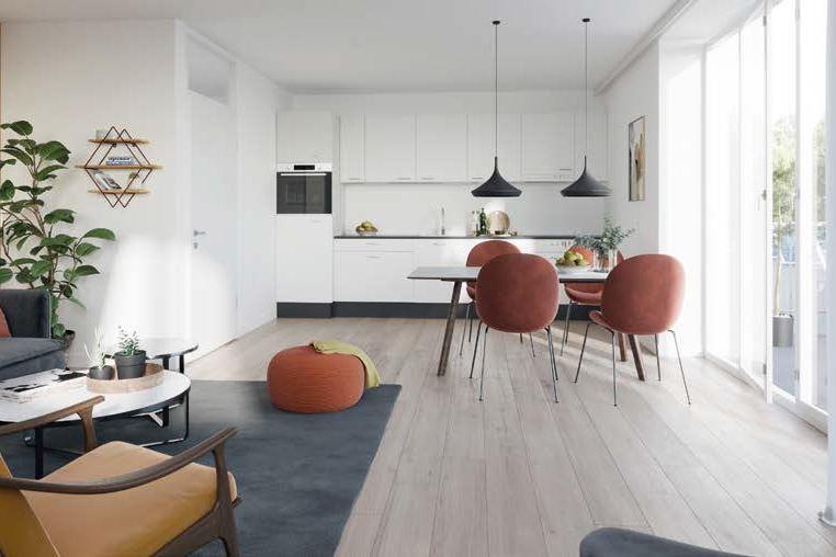 Bekijk foto 4 van 24|Centrumappartement|type G|De Smidse (Bouwnr. 24)