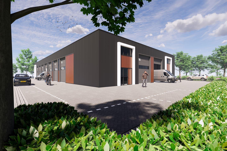 Bekijk foto 1 van Hoek Overkampsweg/Ampérestraat