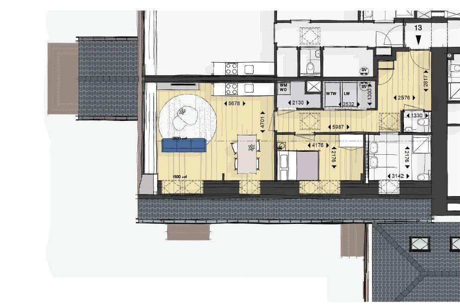 Bekijk foto 5 van 13 | Appartementen | Hemels Wonen (Bouwnr. 13)