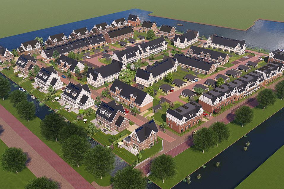 Bekijk foto 2 van 02 - Weespersluis - Lanenrijk 2A2 (Bouwnr. 100)