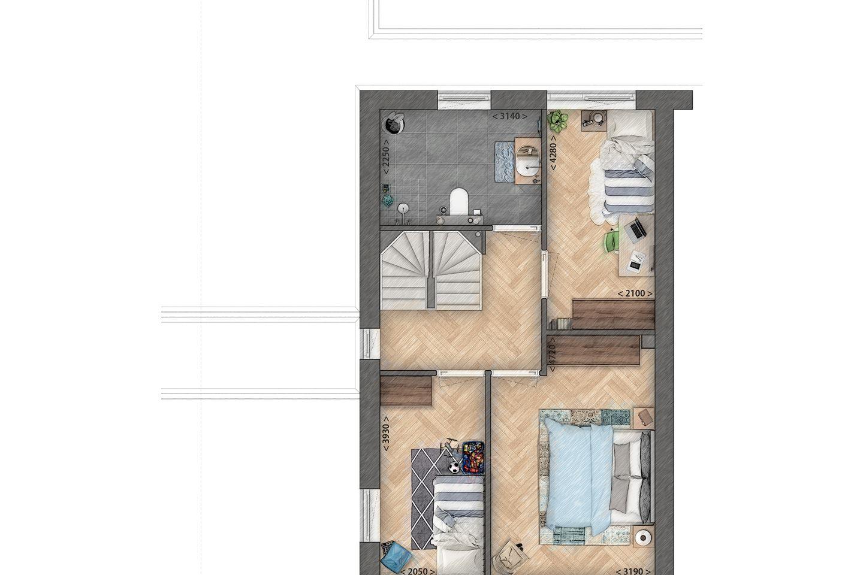 Bekijk foto 4 van twee-onder-een-kapwoningen (Bouwnr. 1)