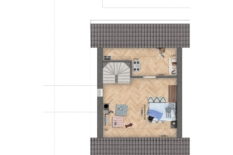 Bekijk foto 5 van twee-onder-een-kapwoningen (Bouwnr. 1)