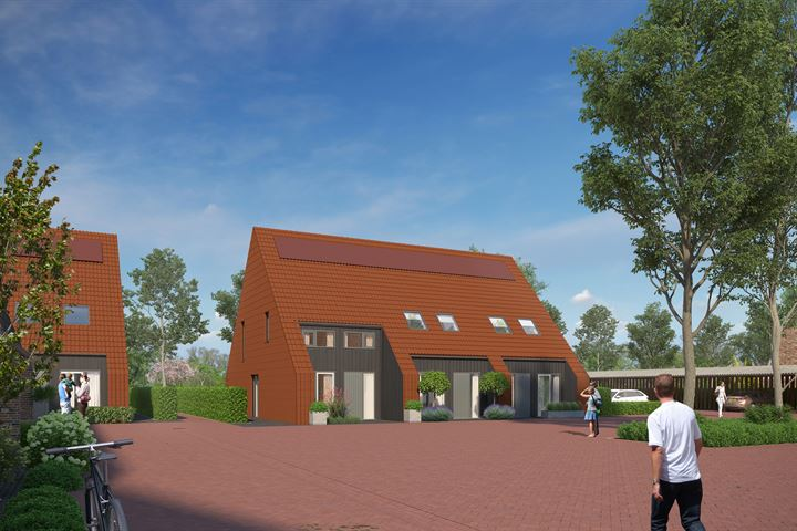 Nieuwbouw woning in landelijke omgeving