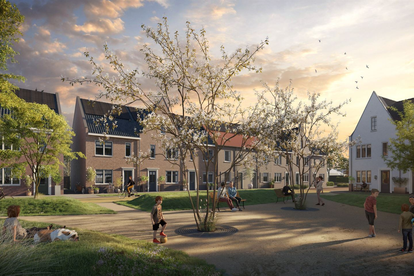 View photo 1 of Rijwoning Brink (Bouwnr. 24)