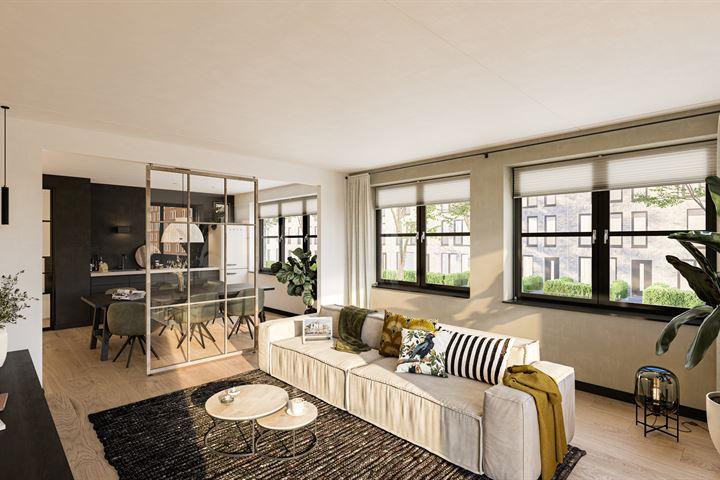 Type K, 2-kamer appartement (Bouwnr. 36)