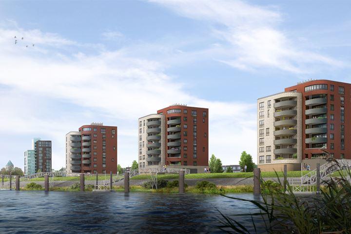 Luxe appartement aan de IJssel (Bouwnr. 2.02)