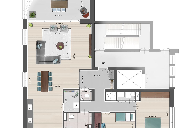 Bekijk foto 4 van Luxe appartement aan de IJssel (Bouwnr. 2.02)