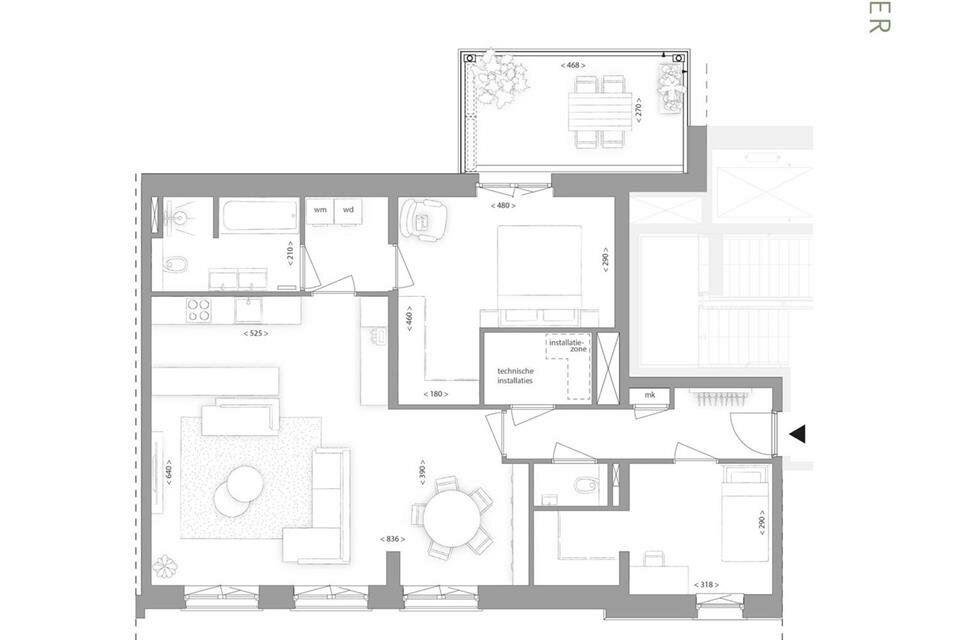 Bekijk foto 5 van Gasthuiskwartier | tweede fase Blok C (Bouwnr. 152)