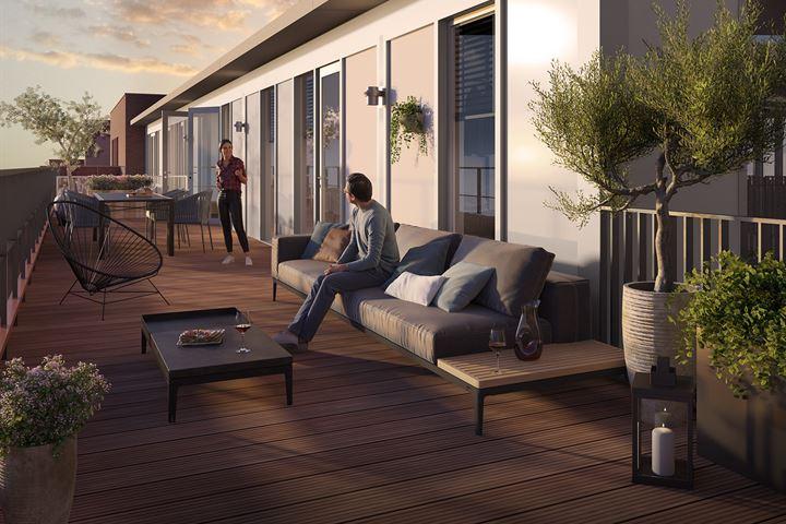 Top appartement (Bouwnr. 45)