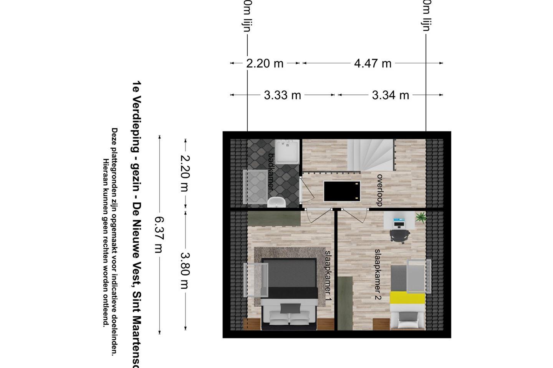 Bekijk foto 5 van De Nieuwe Vest tussenwoning (Bouwnr. 2)