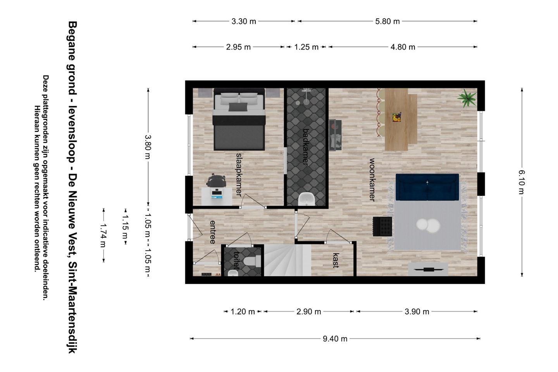 Bekijk foto 4 van De Nieuwe Vest hoekwoning (Bouwnr. 5)