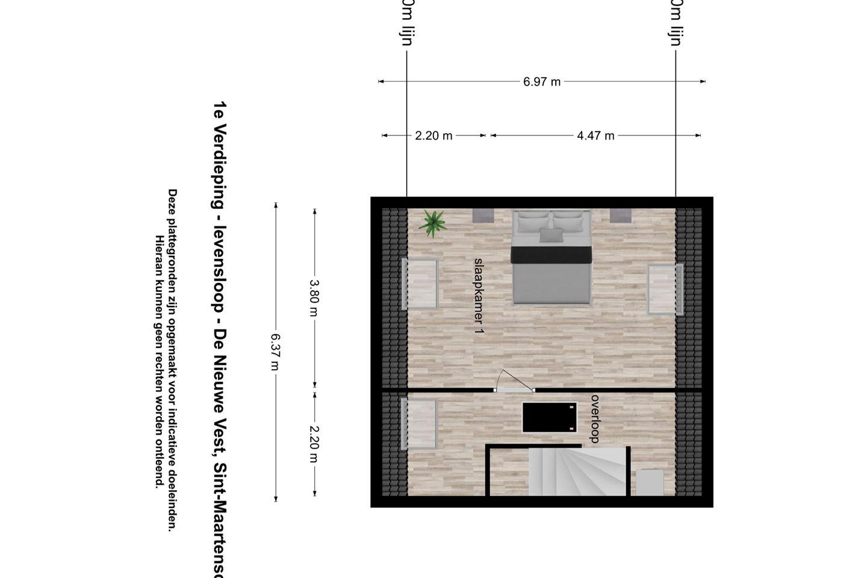 Bekijk foto 5 van De Nieuwe Vest hoekwoning (Bouwnr. 5)
