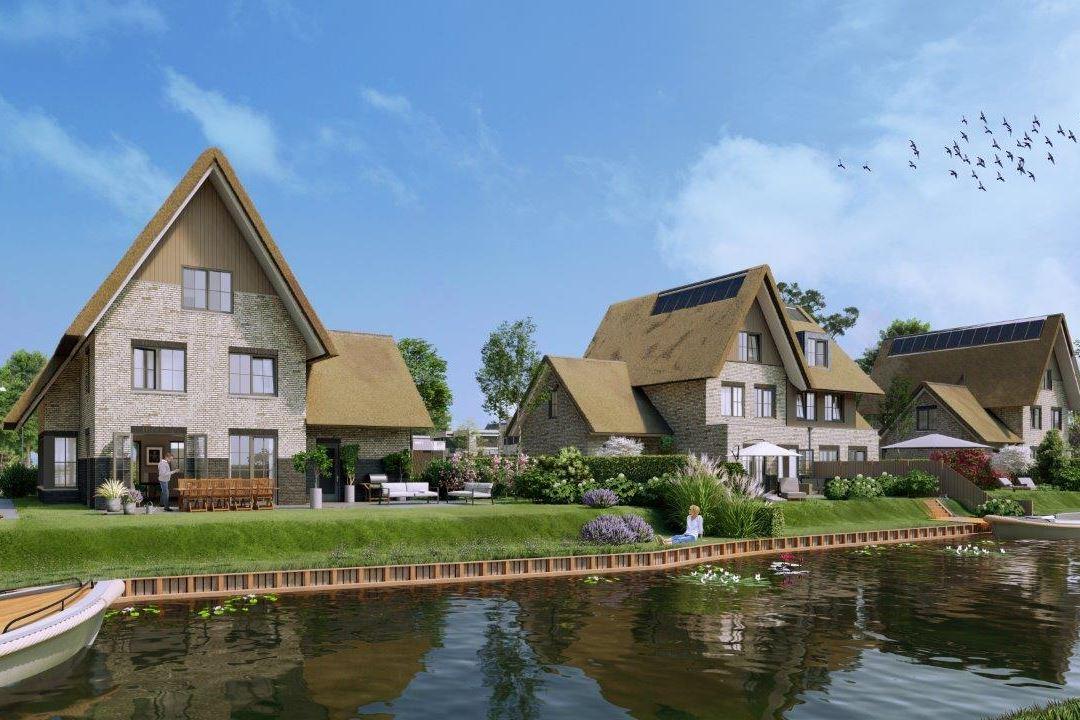 Bekijk foto 1 van Weespersluis - Waterrijk 4A3 (Bouwnr. 1)