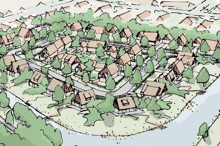 Bekijk foto 2 van Groenrijck - Kavels (Bouwnr. 1)
