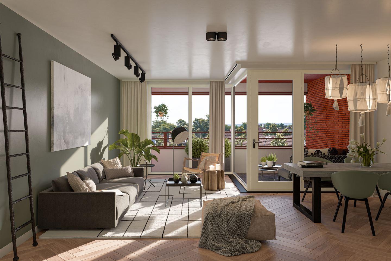Bekijk foto 3 van Appartementen Type A (Bouwnr. 221)