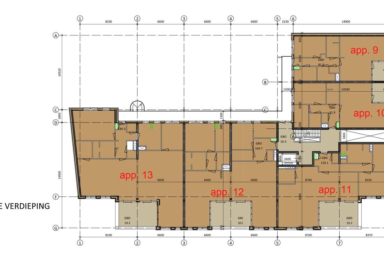Bekijk foto 4 van 13 - Penthouse - 2e verdieping