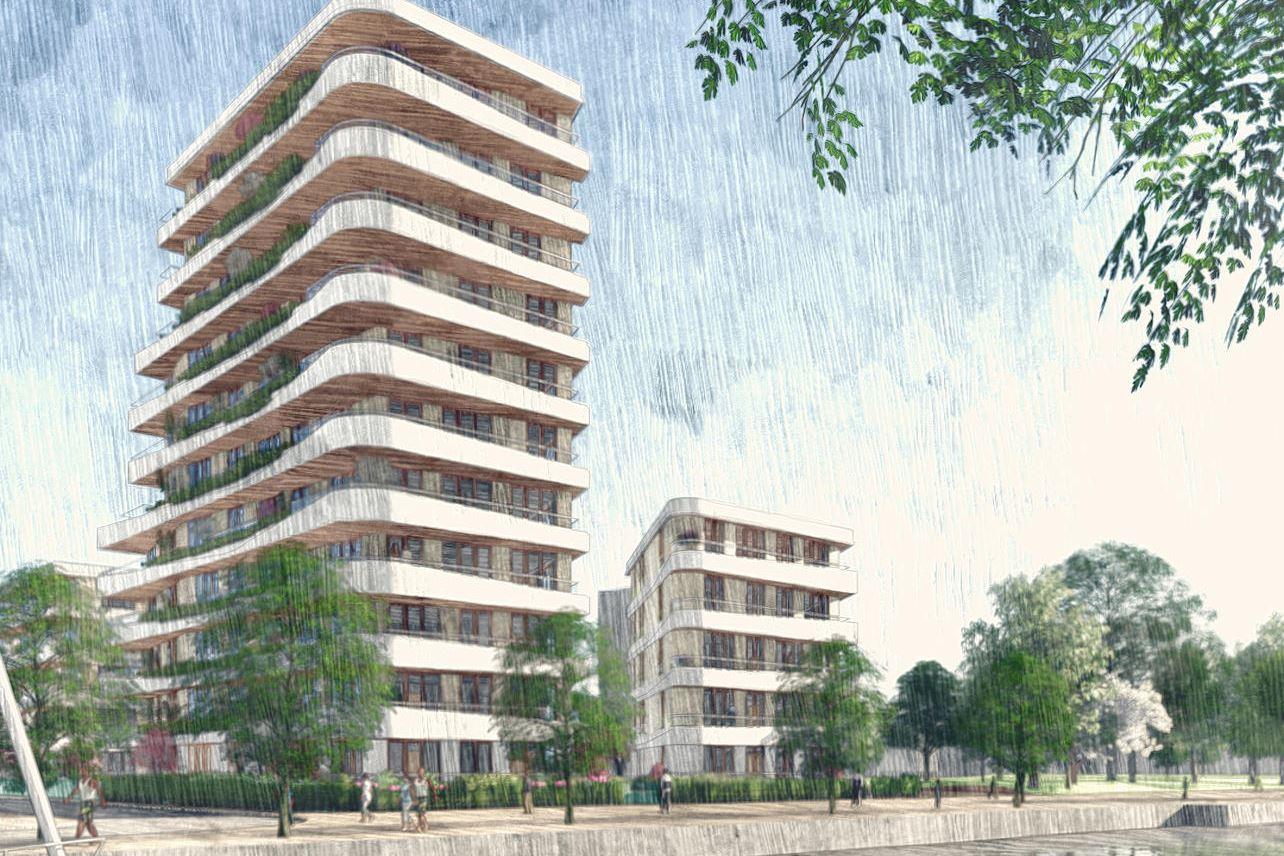 Bekijk foto 1 van Kanaalboulevard (Bouwnr. 20)