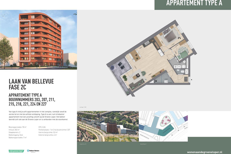 Bekijk foto 4 van Appartementen Type A (Bouwnr. 221)