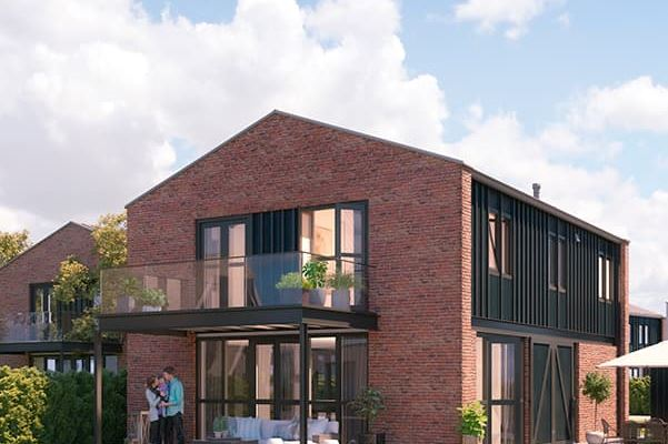 Modern barn style houses (Bouwnr. 2.24)