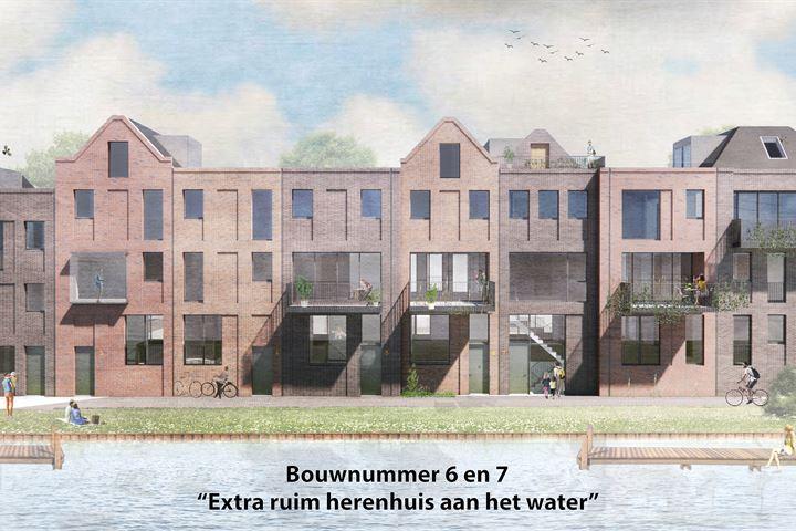 CPO Sluiseiland | Herenhuis aan het water (Bouwnr. 6)