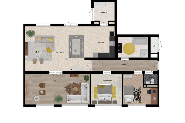 Appartementen - Beilerstraat (Bouwnr. 3a)