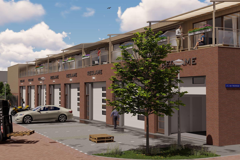 Bekijk foto 2 van J.C. van Neckstraat 3 en 3a