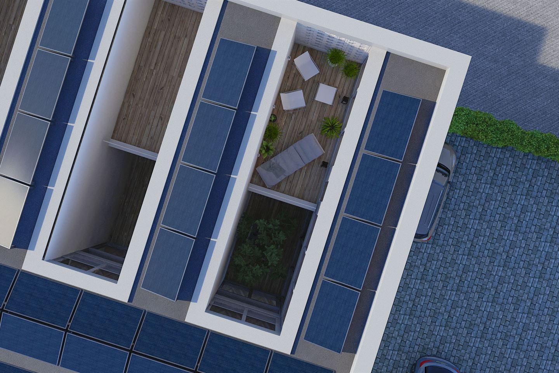 Bekijk foto 3 van Stadsvilla tussen (Bouwnr. 1)