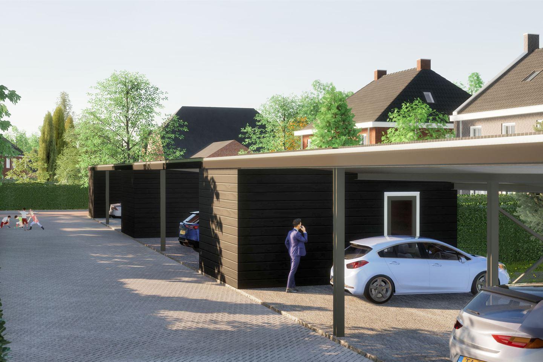 Bekijk foto 2 van Tweekapper met dubbele carport Type XXL (Bouwnr. 17)