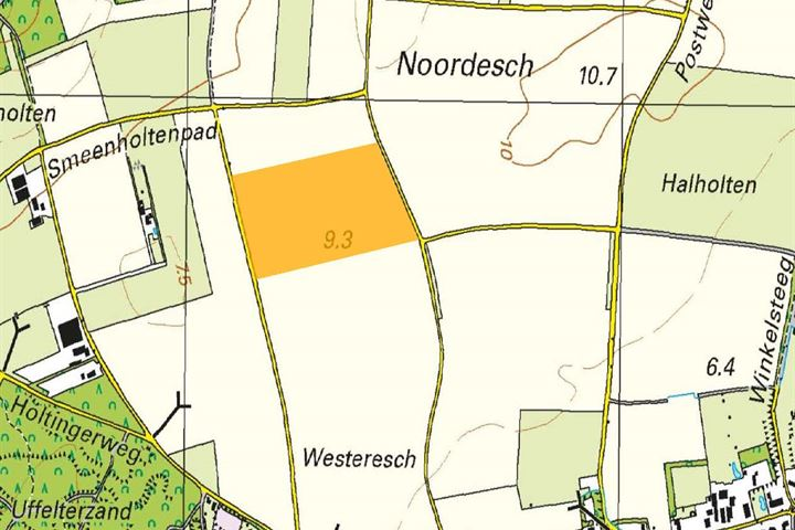 Holtweg / Westerseweg, Uffelte