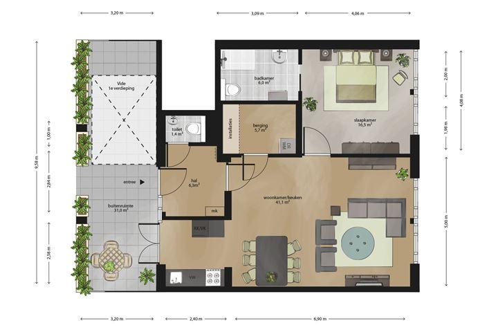 Appartement 5-17