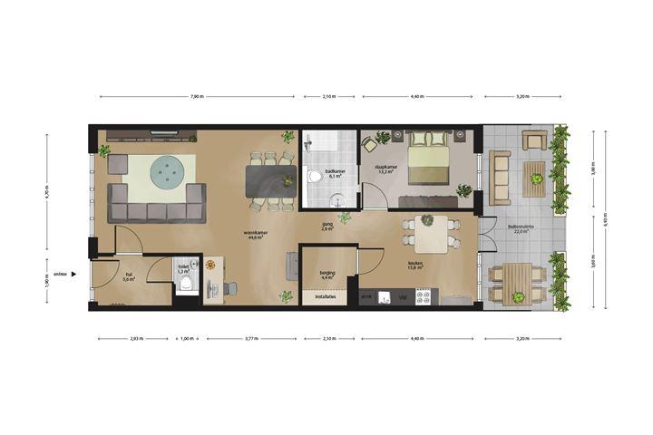 Appartement 5-33