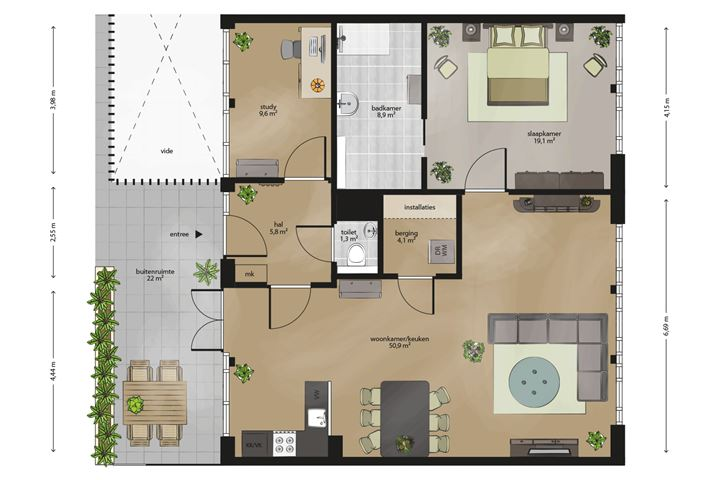Appartement 5-40