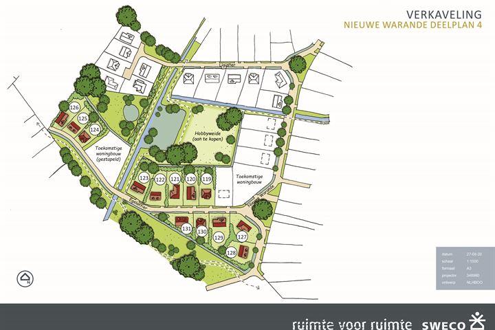 Buitengoed Nieuwe Warande deelplan IV # 121
