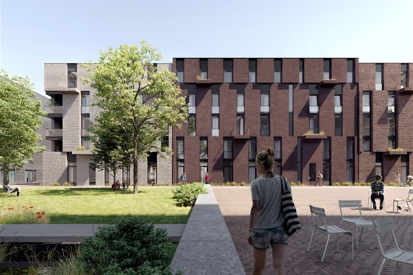 Bekijk foto 1 van Srefidensiplein (Bouwnr. 8)
