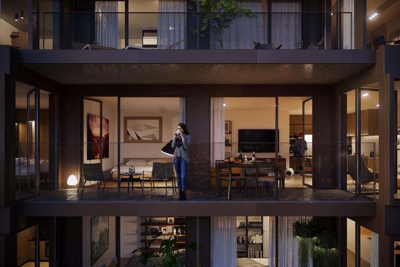 Bekijk foto 1 van Prime Apartments 17- (Bouwnr. 8)