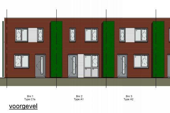Harlekijn, 10 nieuwbouwwoningen