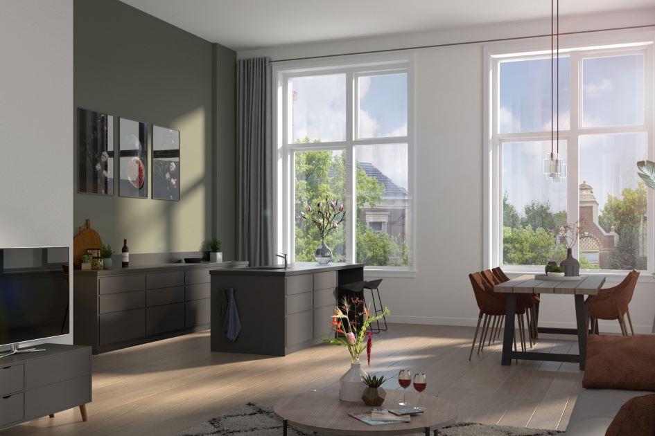 Bekijk foto 3 van 14 Appartementen HBS (Bouwnr. 12)