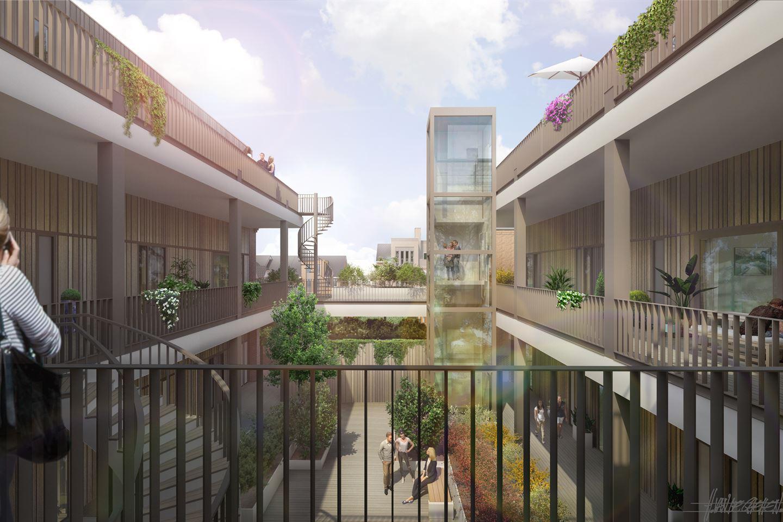Bekijk foto 2 van 14 Appartementen HBS (Bouwnr. 13)