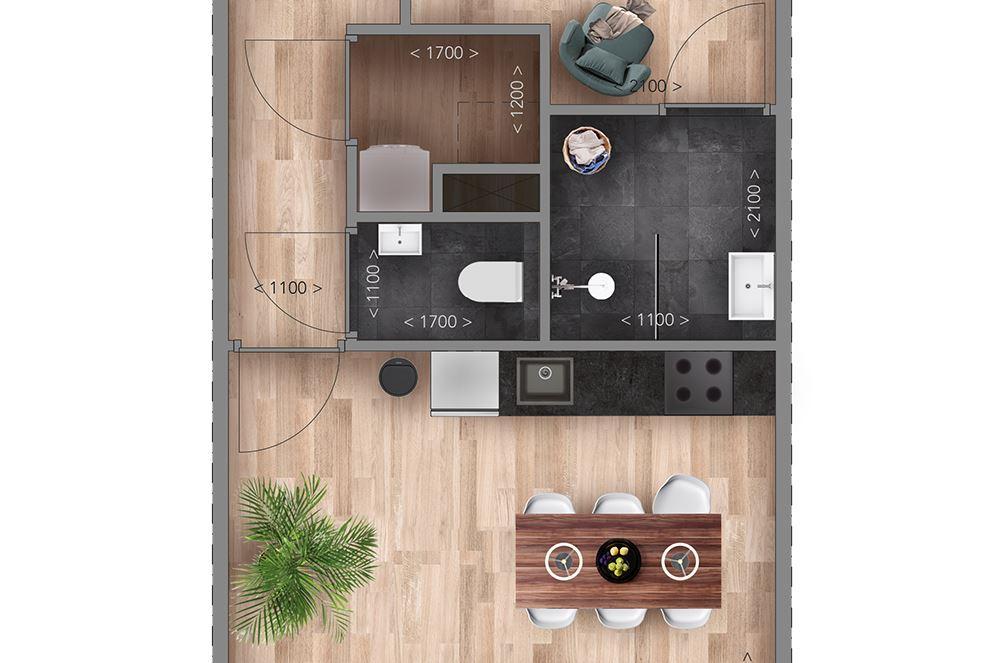 Bekijk foto 5 van Appartementen A Type (Bouwnr. 1)