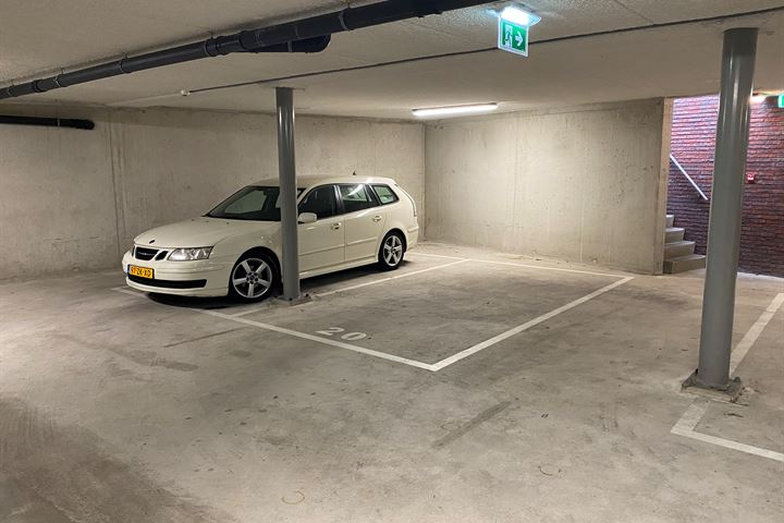 parkeerplaats Gashouder