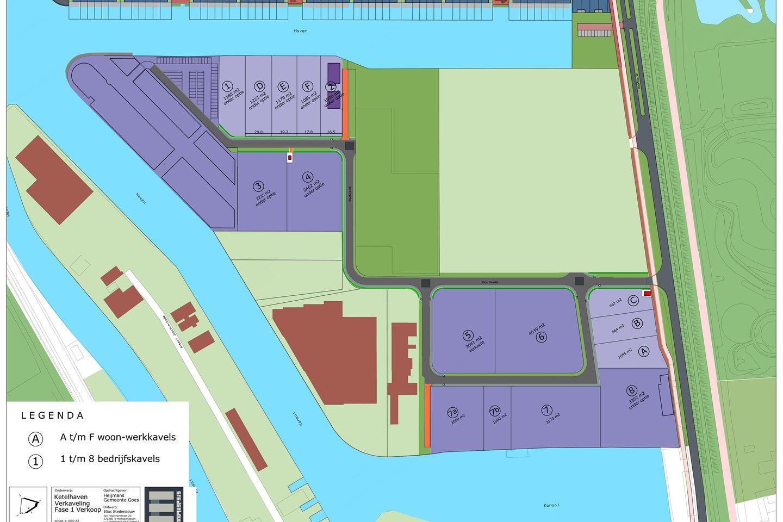 Bekijk foto 2 van Houtkade woon-/werkkavels