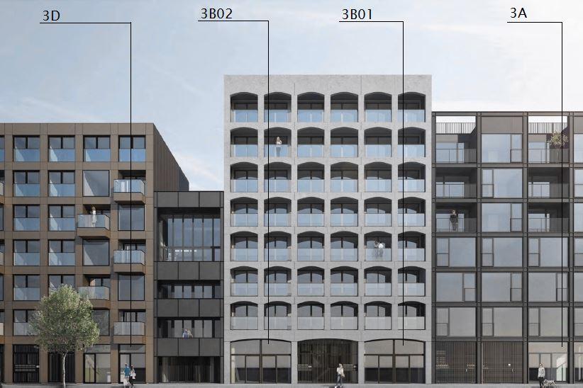 Bekijk foto 1 van Oostenburgermiddenstraat 126-166