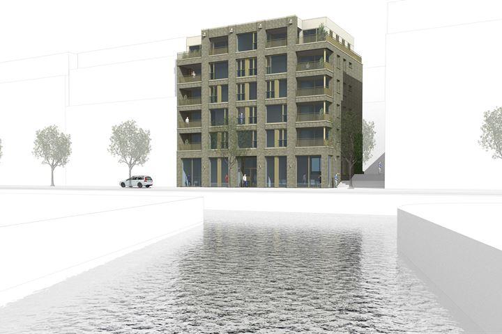 Nieuw Delftse Poort, begane grond studio A