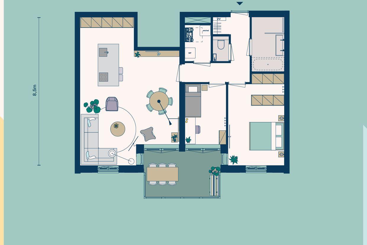Bekijk foto 4 van Appartementen (Bouwnr. 2)