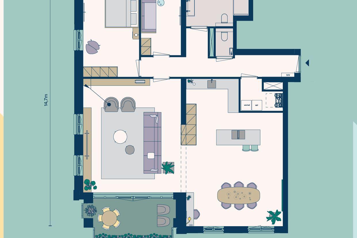 Bekijk foto 4 van Appartementen (Bouwnr. 5)