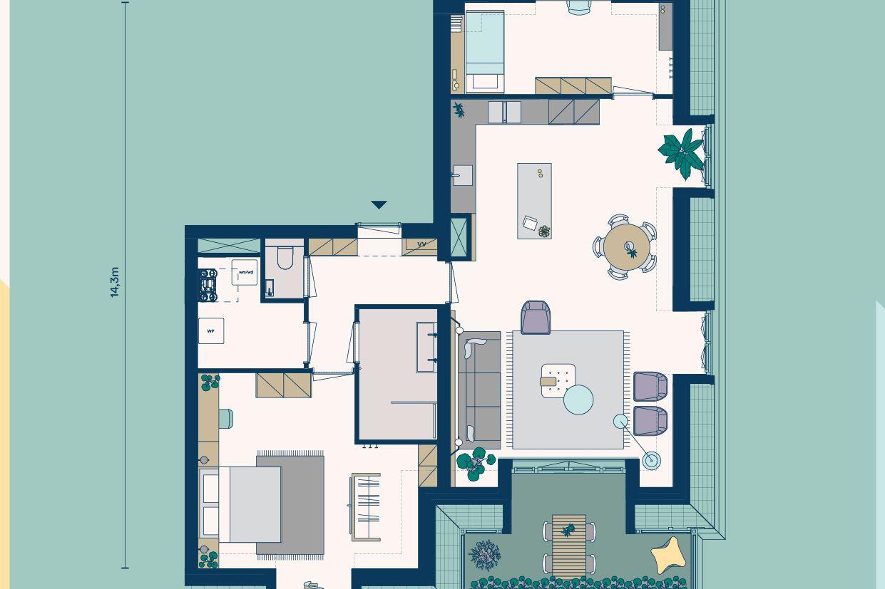 Bekijk foto 4 van Appartementen (Bouwnr. 6)