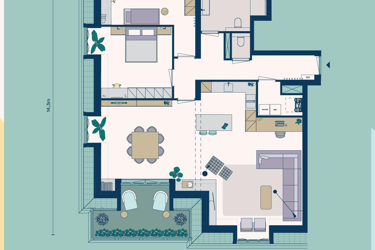 Bekijk foto 4 van Appartementen (Bouwnr. 7)