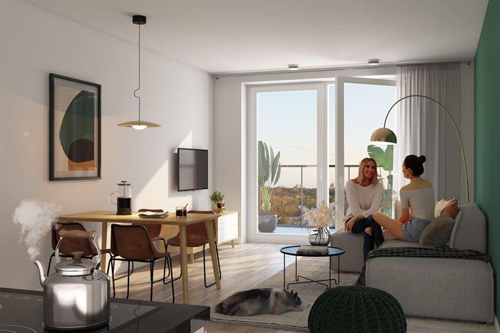 HOGE VRIJHEID 2-kamer Appartement (Bouwnr. 127)