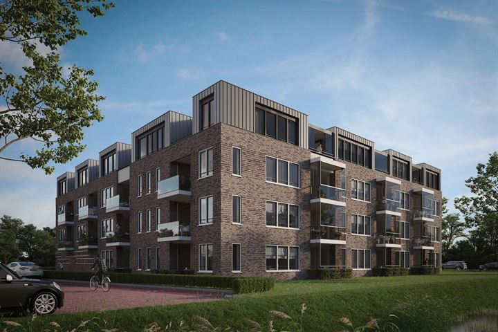 Weids. appartementen - 1e verdieping (Bouwnr. 8)